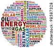 energy and power - stock photo