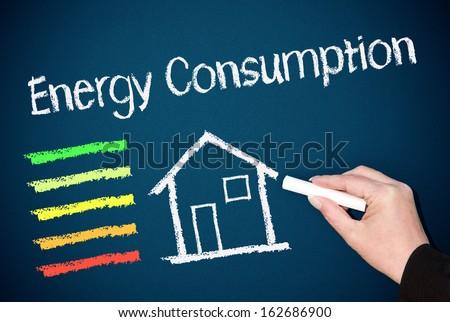Energy Consumption - stock photo