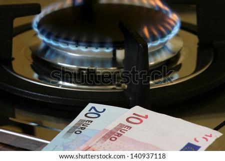 energy costs - stock photo