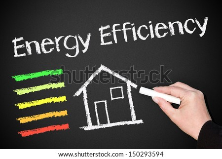 Energy Efficiency - stock photo