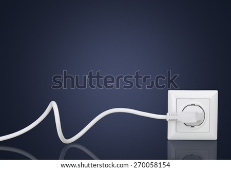 Energy, Electricity, Electric Plug. - stock photo
