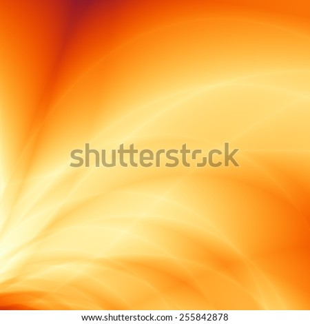 Energy flow abstract sun bright summer background - stock photo