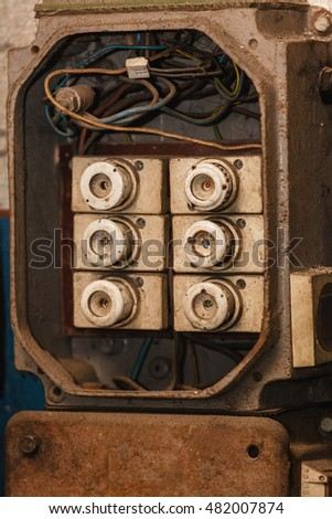 automotive fuse stock photos royalty images vectors energy mechanical fixing engineering industry concept fuse box in garage electrical power station