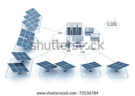 Energy save - stock photo