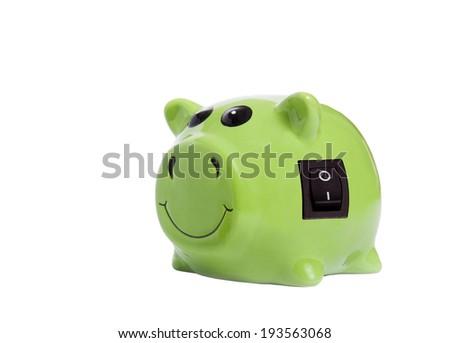 Energy savings concept - stock photo