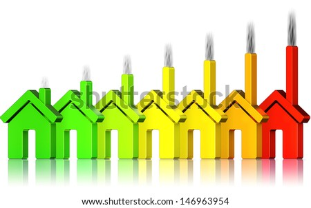 energy use - stock photo
