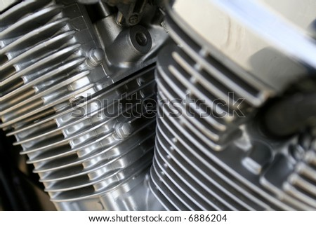 engine of a motor