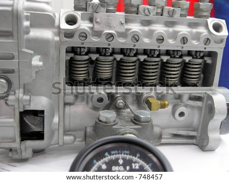 Engine Parts, Fuel Injection Pump