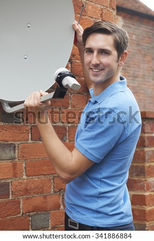 Cable Tv Installer Stock Images, Royalty-Free Images & Vectors ...