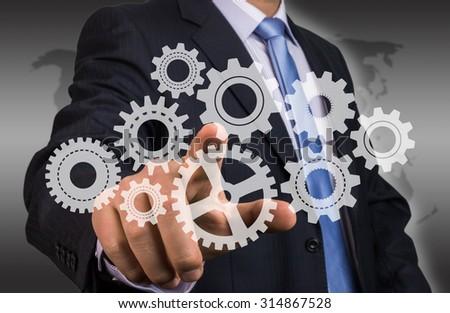 engineering concept - stock photo