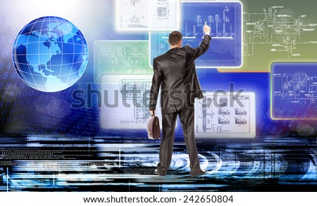 Engineering creative technology - stock photo