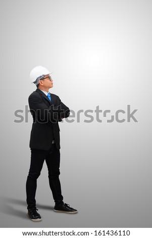 Engineering isolated - stock photo
