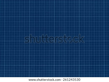 Engineering millimeter paper grid texture background - stock photo