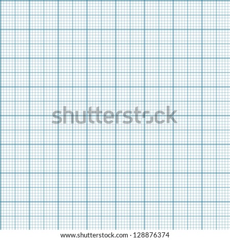 Engineering millimeter paper - seamless background - stock photo