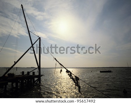 england essex kent thames estuary - stock photo