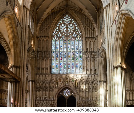 Early english period stock photos royalty free images for West window york minster
