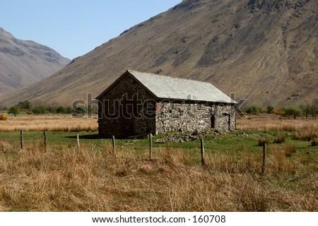 English Barn - stock photo