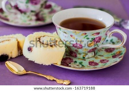 English breakfast tea - stock photo