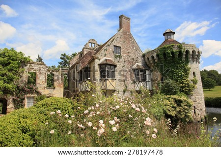 English country house in Kent - stock photo
