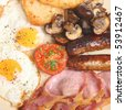 English fried breakfast - stock photo