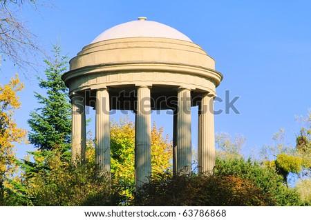 English Grounds of Woerlitz Temple of Venus - stock photo