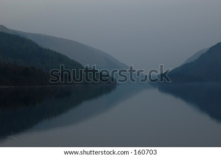 English Lake - stock photo