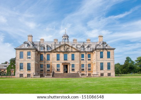 English manor from 17th century, Belton, UK - stock photo