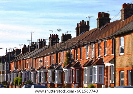 Terraced houses stock images royalty free images for Terrace house new season