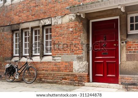 English street - stock photo