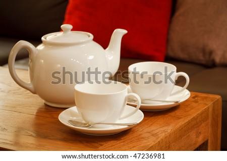 English tea - stock photo