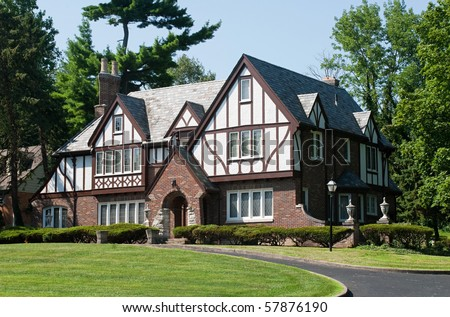 English Tudor Home