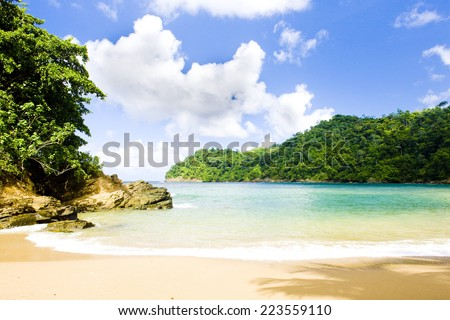 Englishman's Bay, Tobago - stock photo