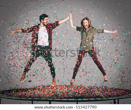 Image result for enjoying trampoline