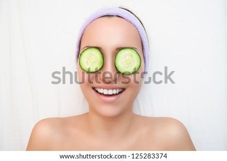 Enjoying spa - stock photo