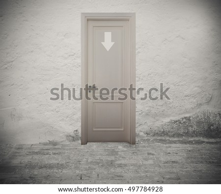 Enter to the right door