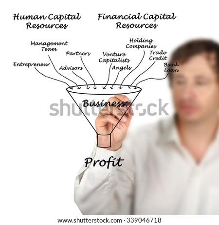 Enterprise success - stock photo