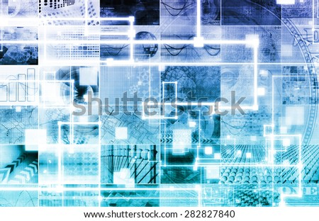 Entertainment Technology and New Video Streaming Service - stock photo