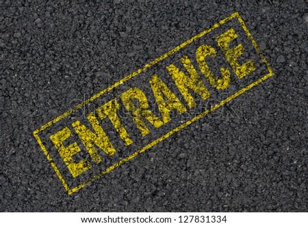 Entrance Background - stock photo