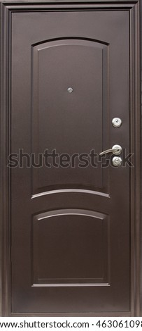 Entrance door (metal door)