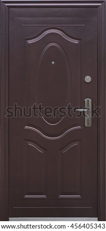 Entrance door (The exterior door, metal door)