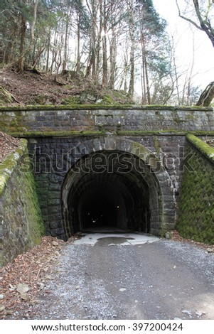 Entrance of the old  tunnel 3