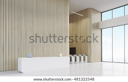 Modern Entrance Gate Stock Images Royalty Free Images