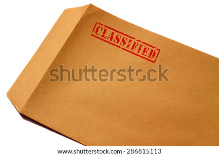Envelope classified