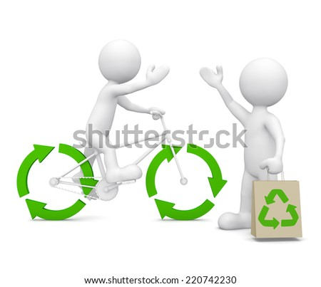 Environmental Friendly Morphs - stock photo