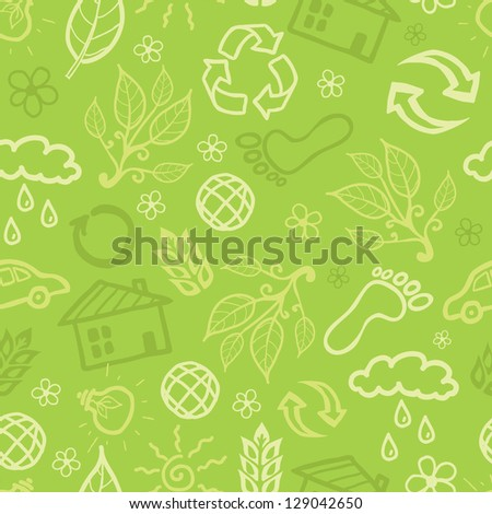 Environmental seamless pattern background raster