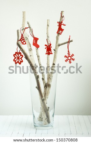 Christmas still life stock images royalty free images for Chocolate gingerbread twigs