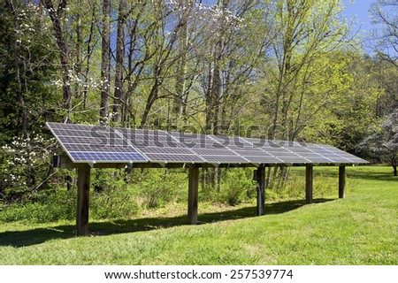 Environmentally Friendly Electricity Generating Solar Panels