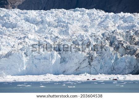 Eqi Glacier, Port Victor, Greenland - stock photo