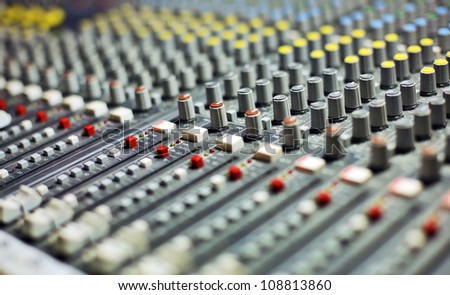 Awesome Sound Recording Equipment Stock Images Royalty Free Images Largest Home Design Picture Inspirations Pitcheantrous