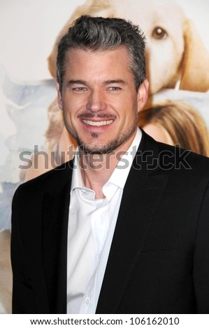 Eric Dane   at Los Angeles Premiere of 'Marley and Me'. Mann Village Theater, Los Angeles, CA. 12-11-08 - stock photo